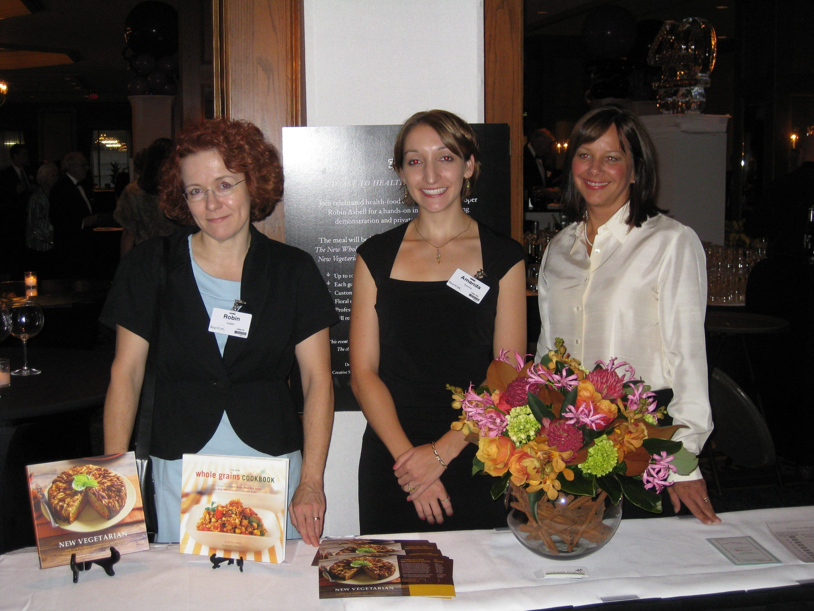 The New Veg Table, Me Amanda and my GF Kris