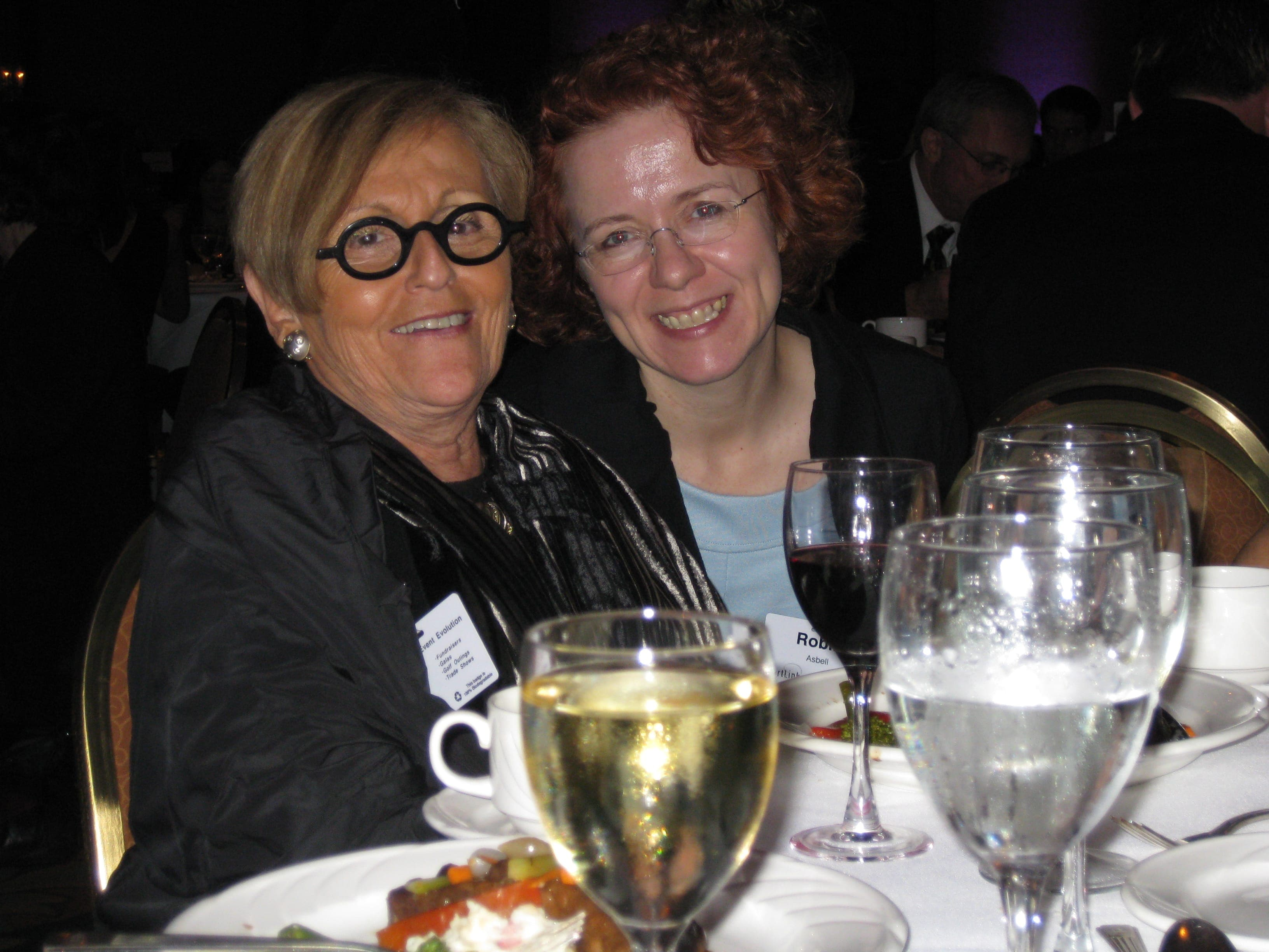 Me with Sue Zelickson, of WCCO and Minnesota Monthly