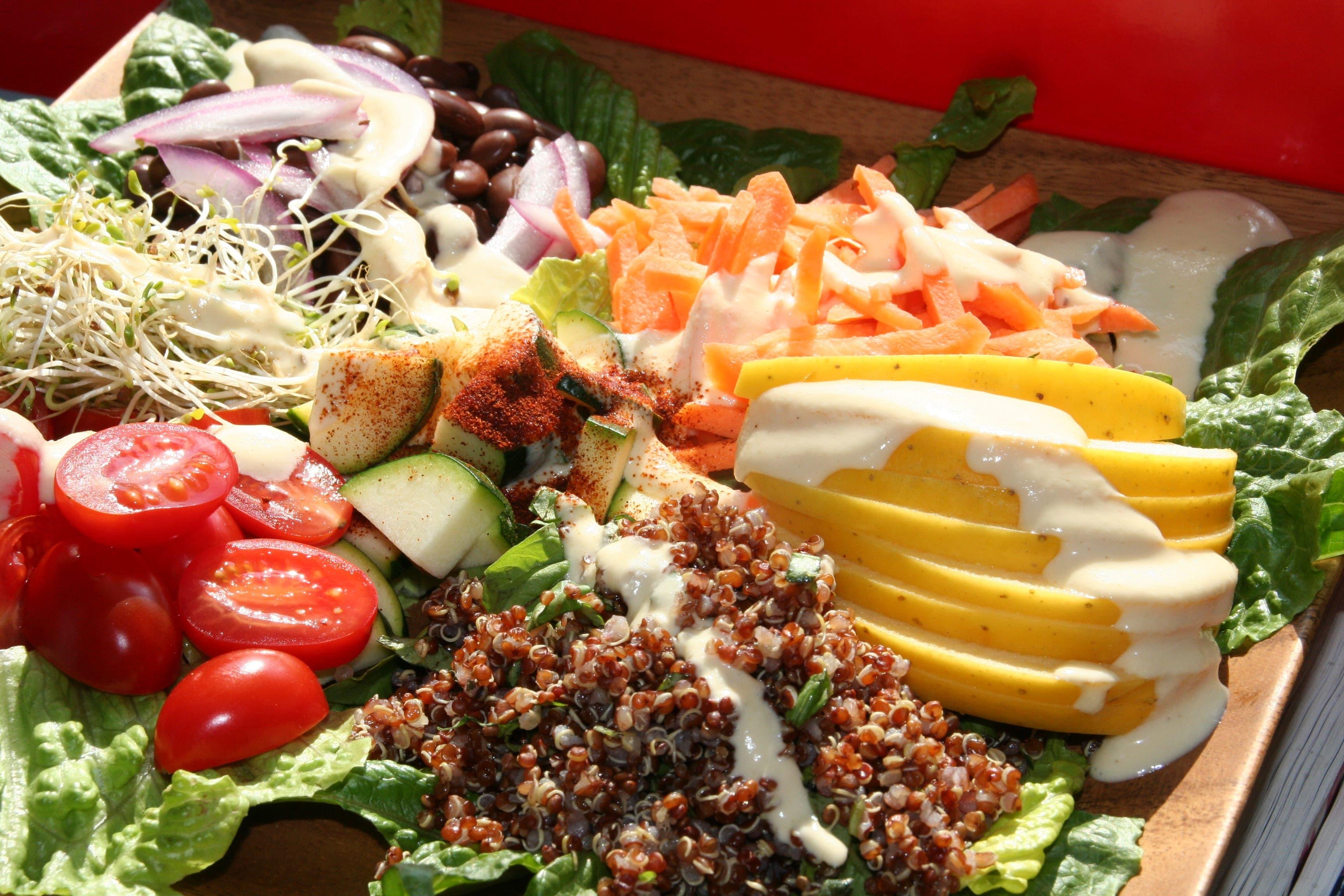 Yummy Creamy, Crunchy Salad
