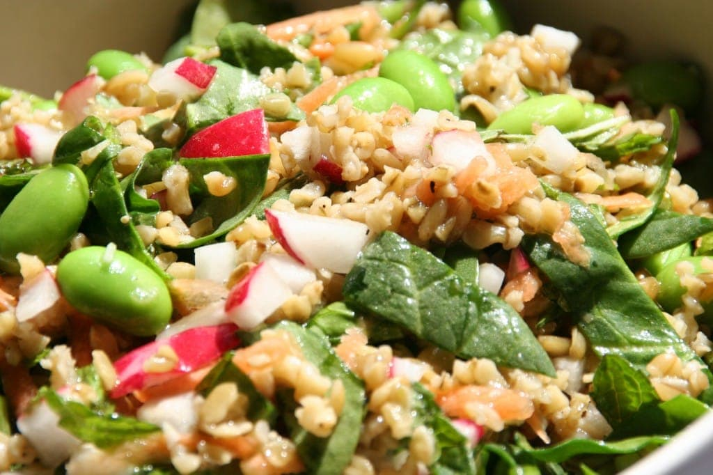 Freekeh and Radish Salad
