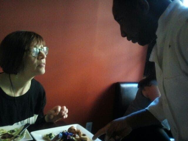 Fran Costigan and Chef Jay
