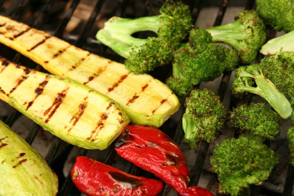 Grilled Veggies for the Pasta