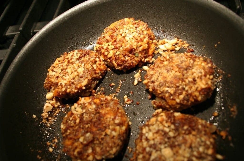 Sage-Quinoa Sweet Potato Croquettes for the Holiday