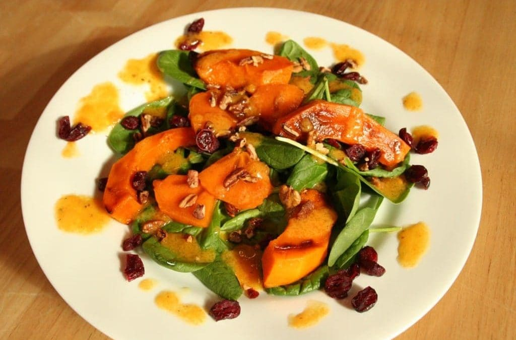 My Holiday Persimmon Salad