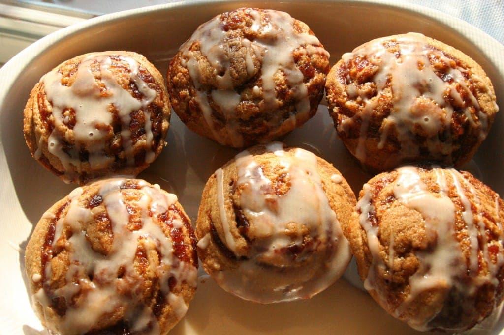 Apple Butter Swirl Cupcakes