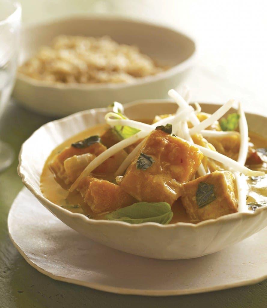 Joe Yonan's Thai Red Curry Squash with Tofu