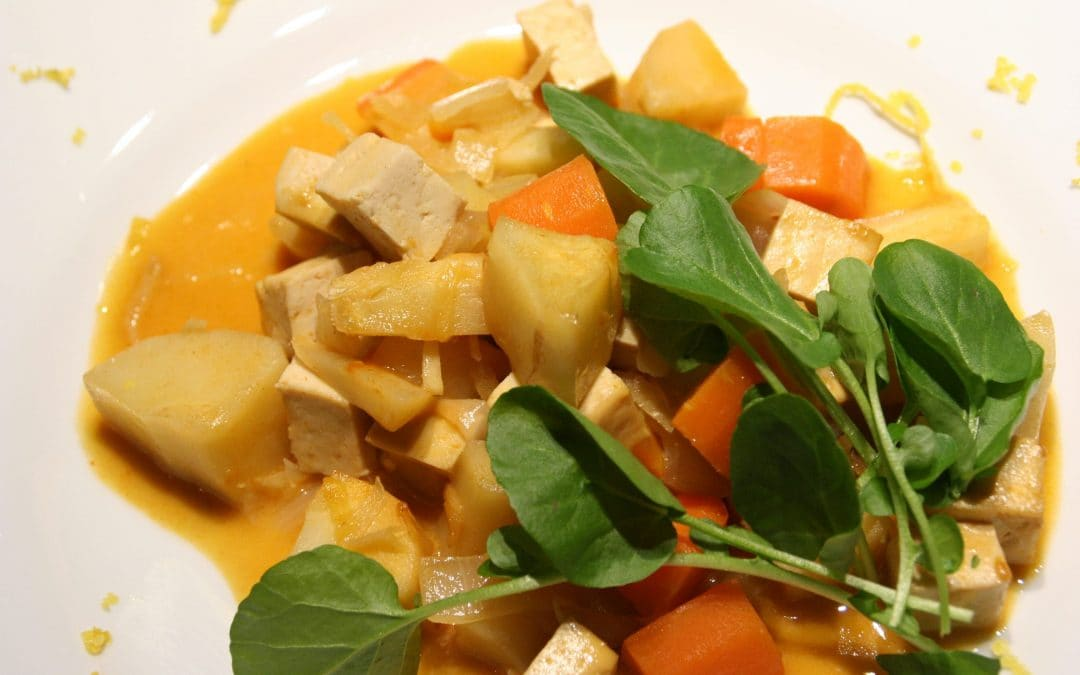 Parsnips Go Thai in an Easy Roasted Red Curry