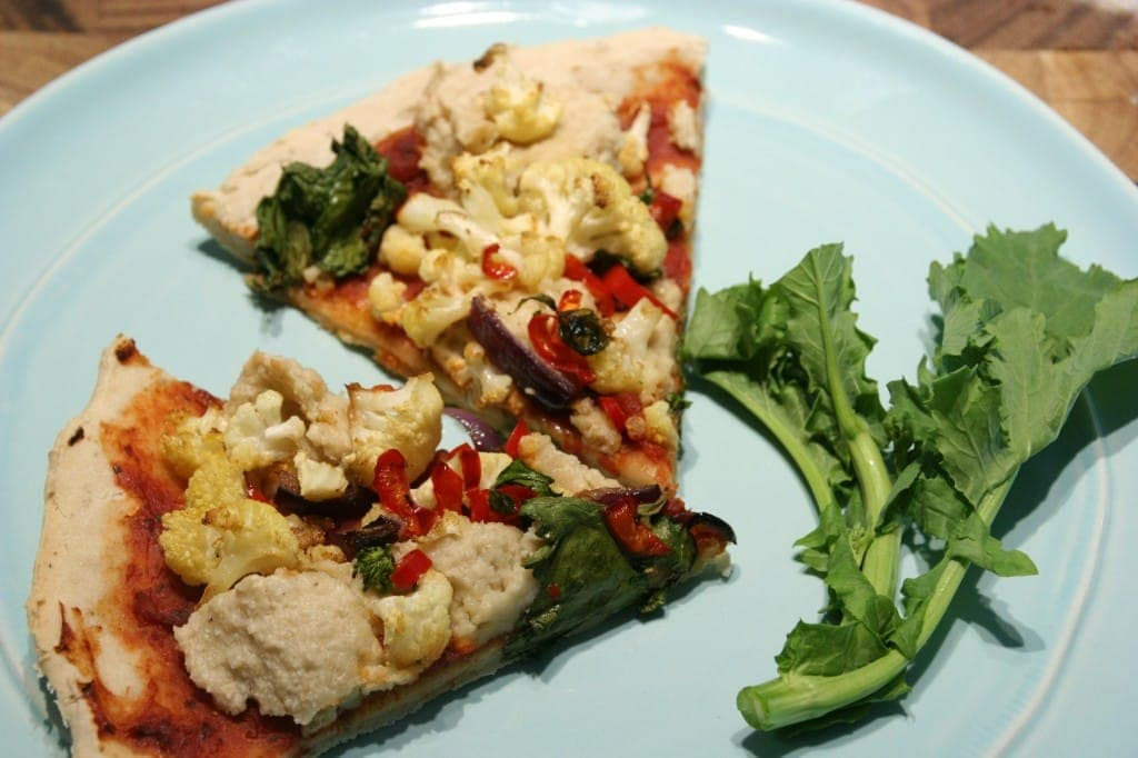 Veggie Pizza-From Carol Fenster's Gluten Free 101