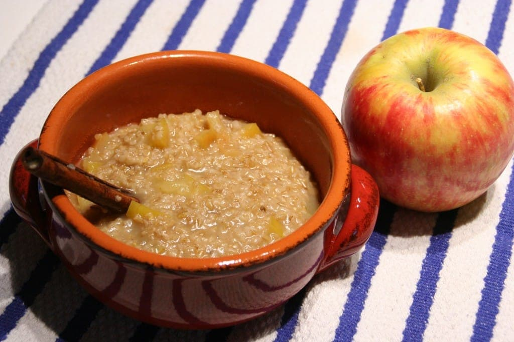 Cider-Cinnamon Apple Oats