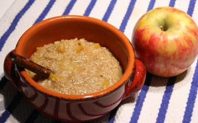 Apples and Oats, Yes, I Am Obsessed