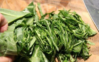 Massage Those Collard Greens for a Terrific Winter Waldorf Salad