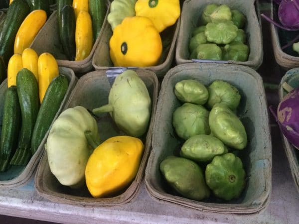 Pattypans at the Farmer's Market!