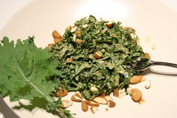 All Hail the Kale Salad with Almonds
