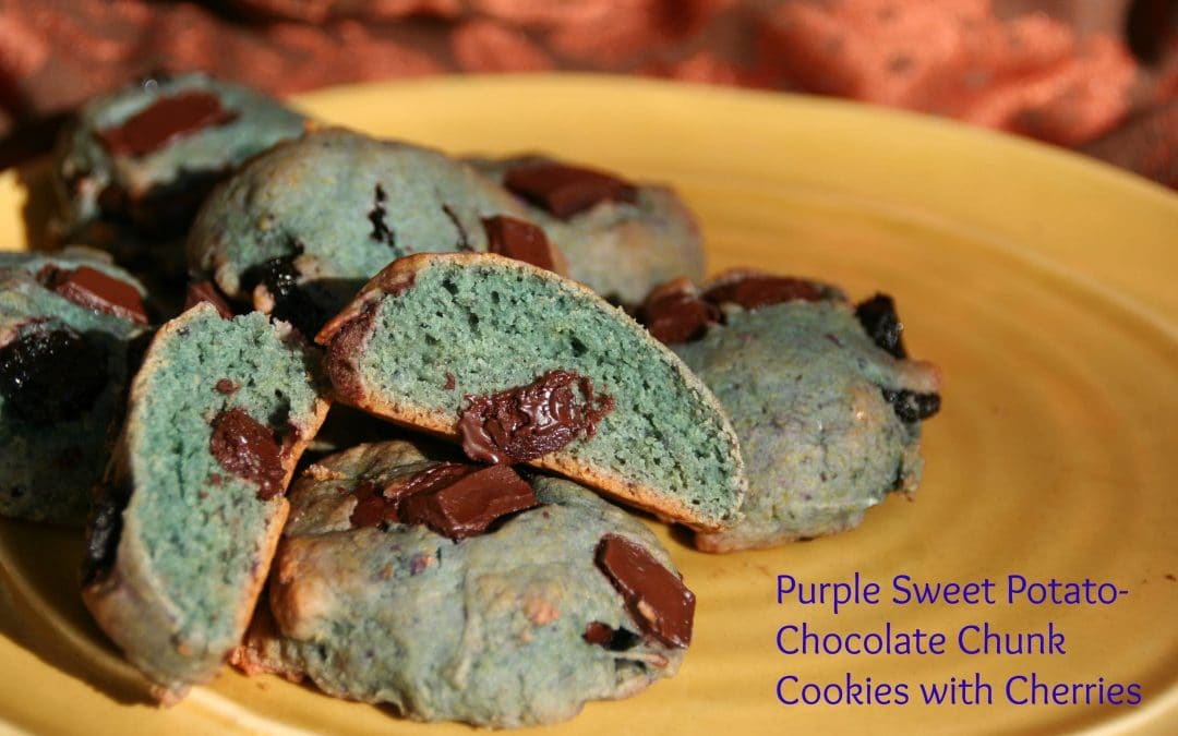 Playing with Purple Sweet Potatoes