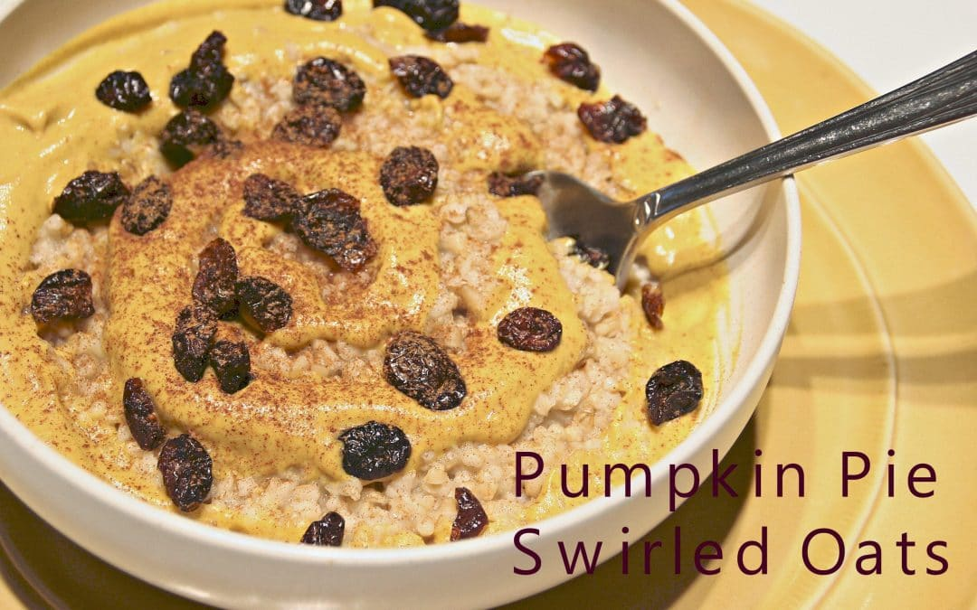 It's Pumpkin Spice and Hot Cereal Time, In One Bowl!