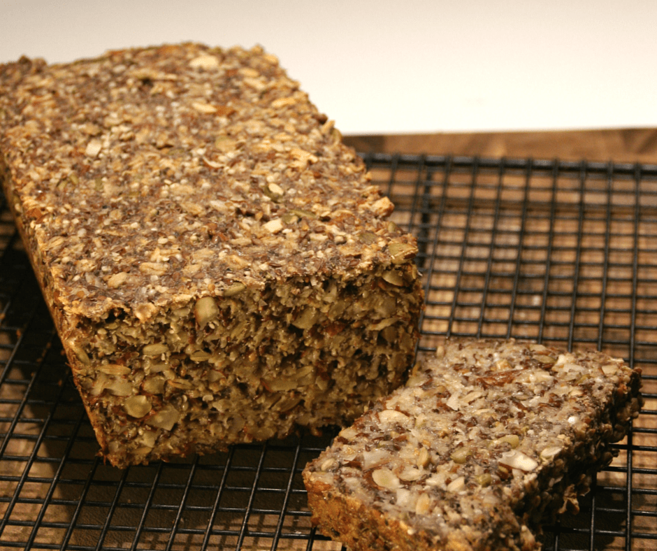 Have a Slice of Nutty, Seedy Goodness #gluten Free #vegan #wholegrain