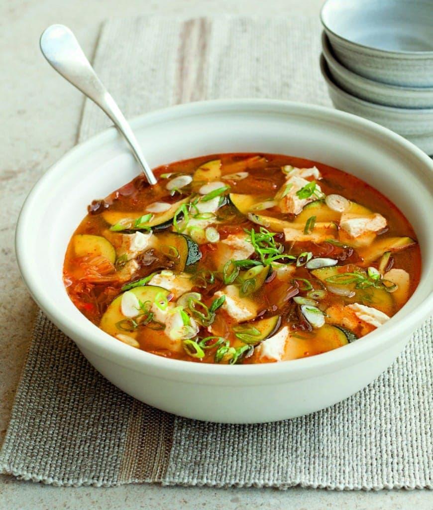 Beautiful, Tangy Tofu Soup