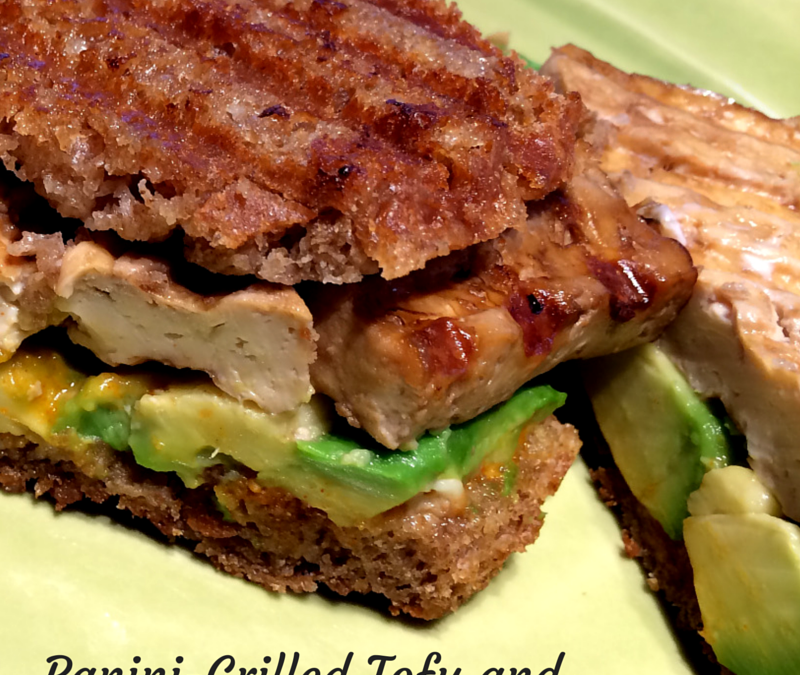 Panini-Grilled Tofu and Veggies-Get More Out of Your Panini Press