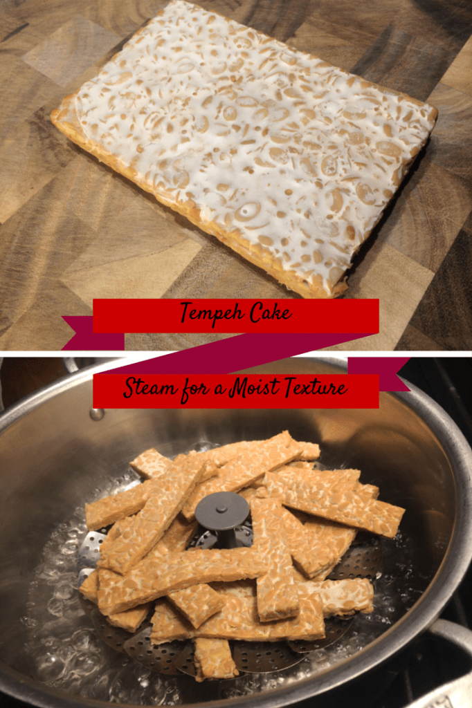 Don't skip steaming the tempeh!