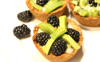 Blackberry Kiwi Tartlets to Celebrate Spring
