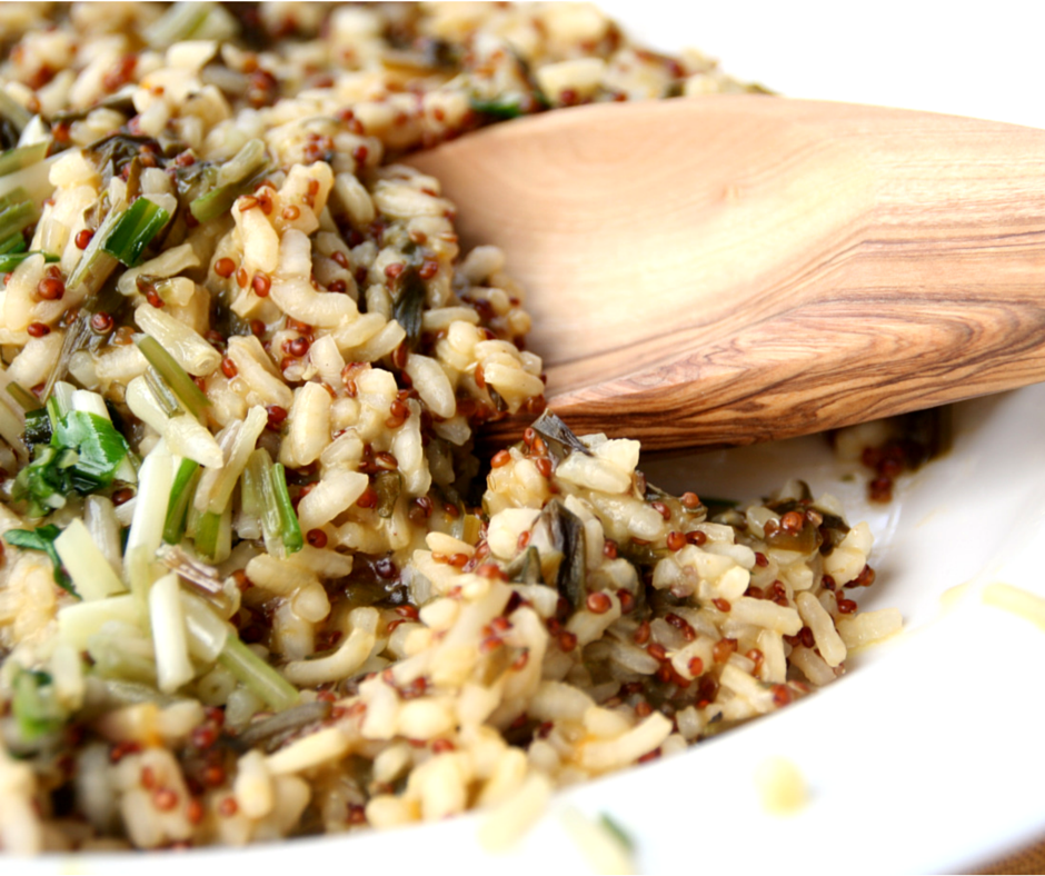 Sweet Ramps, Tangy Sorrel and Nutty Quinoa