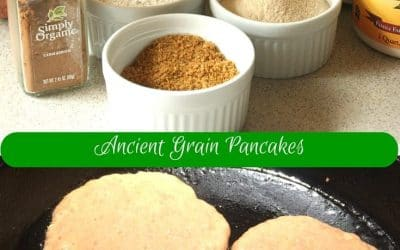Sweet Potato and Ancient Grain Pancakes, Wake Up with Grainy Goodness