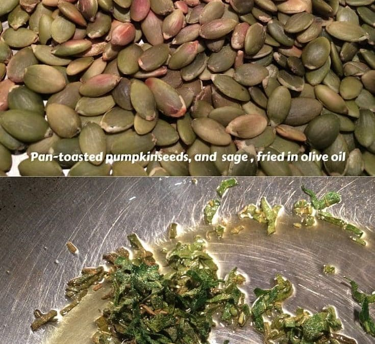 Pumpkin Chips? Make Sage-Pumpkinseed Pate with Frizzled Sage