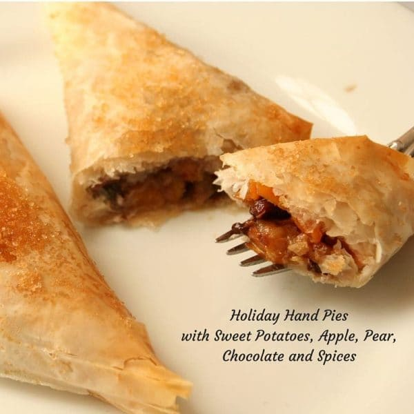 These easy filo wrapped parcels are spiked with chocolate!