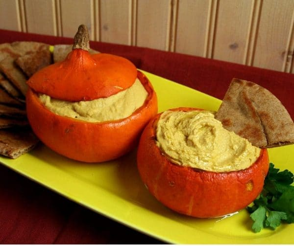 Creamy Squash Hummus for a Party!
