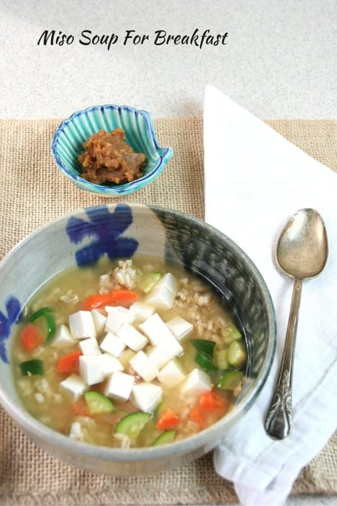 Kick the Sweets, Eat Miso Soup