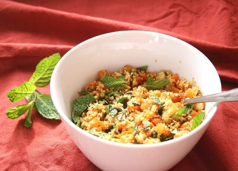Cauliflower Biryani, Where Paleos and Vegans Agree