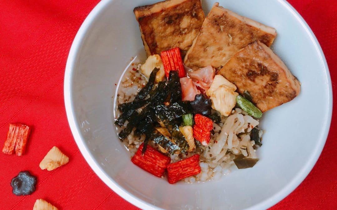 Ochazuke-Japanese Rice and Tea Bowls