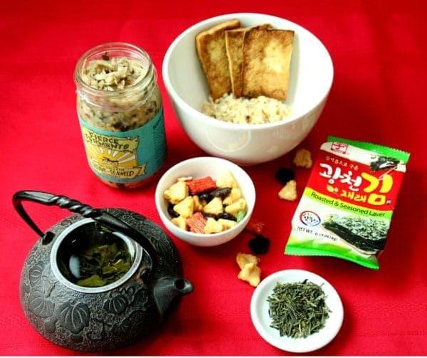 Ochazuke #tea #wholegrain #japanese food #yum #bowls