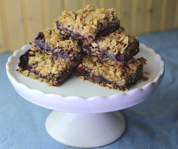 Blueberry Peach Bars #blueberries #peach #bars #cookies #desserts #yum (1)