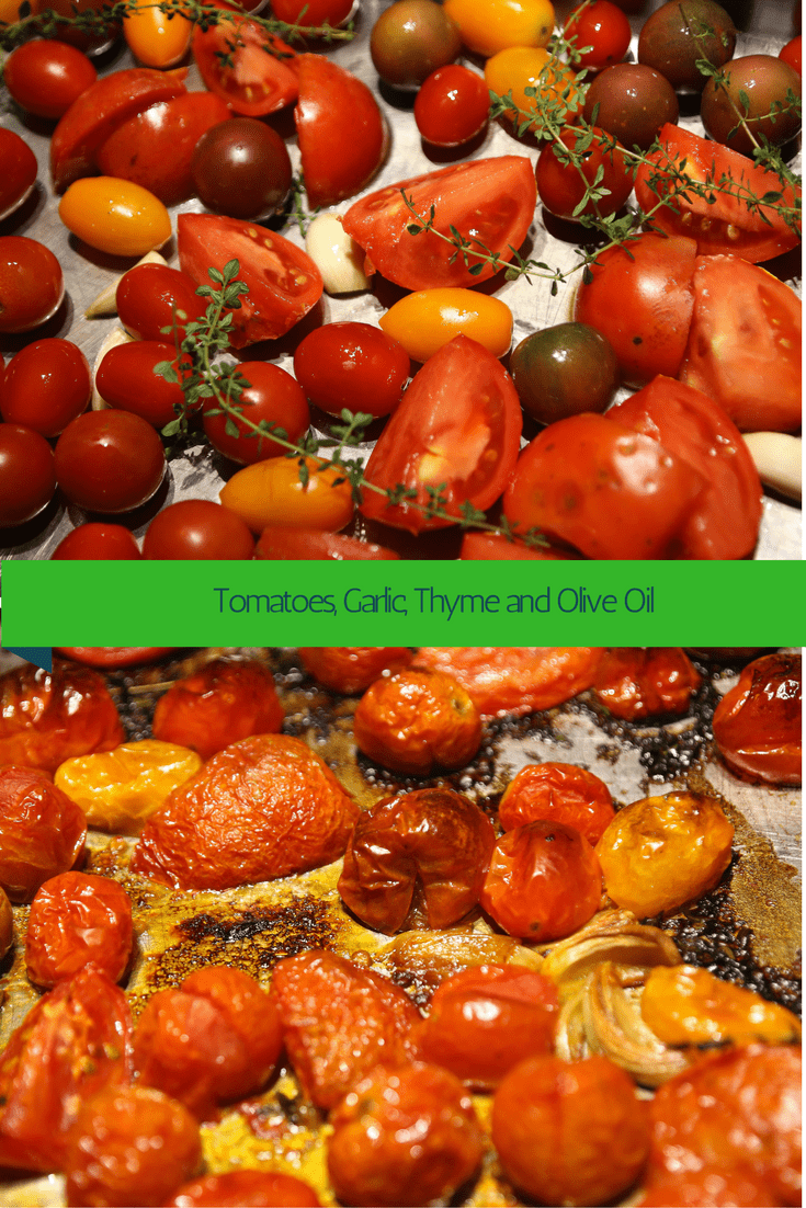 Roasting tomatoes for sauce