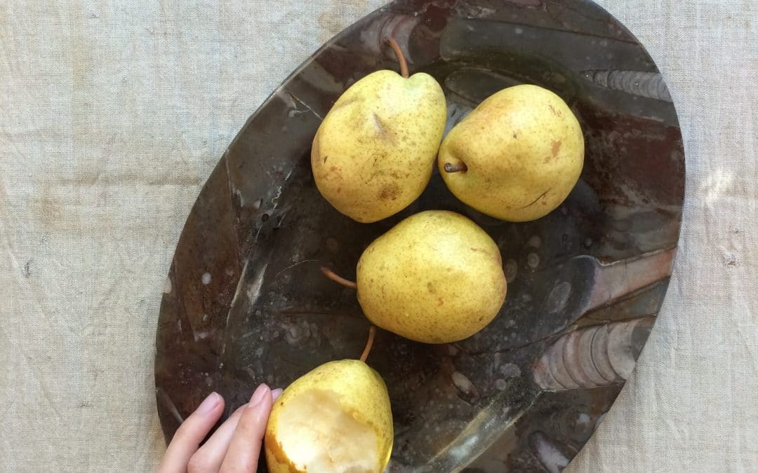 Luscious Pears, Perfectly Luscious, Perfect for Scones