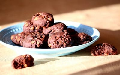 Chocolatey-Crispy Energy Cookies and Yes, Win a Vitamix!