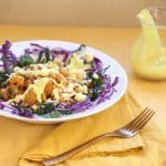 Kale Bowl with Quinoa and Turmeric Dressing by Robin Asbell