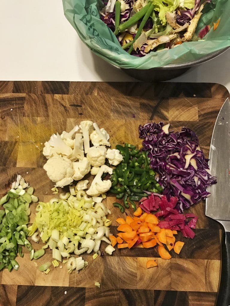 Meatless Monday Earth Day Stir Fry