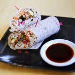 Vegan Sushirittos combine sushi flavors and burrito presentation.