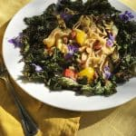 Kale on the Grill for a Fast Pasta