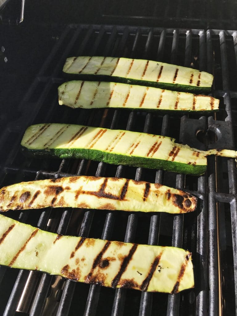 Zucchini on the Grill