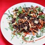 Wild Rice Minnesoba with Shiitakes