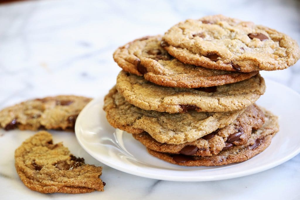 Barley Flour Chocolate Chip Cookies