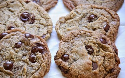 Naked Barley Chocolate Chip Cookies, Ancient Grains Make Great Pastry