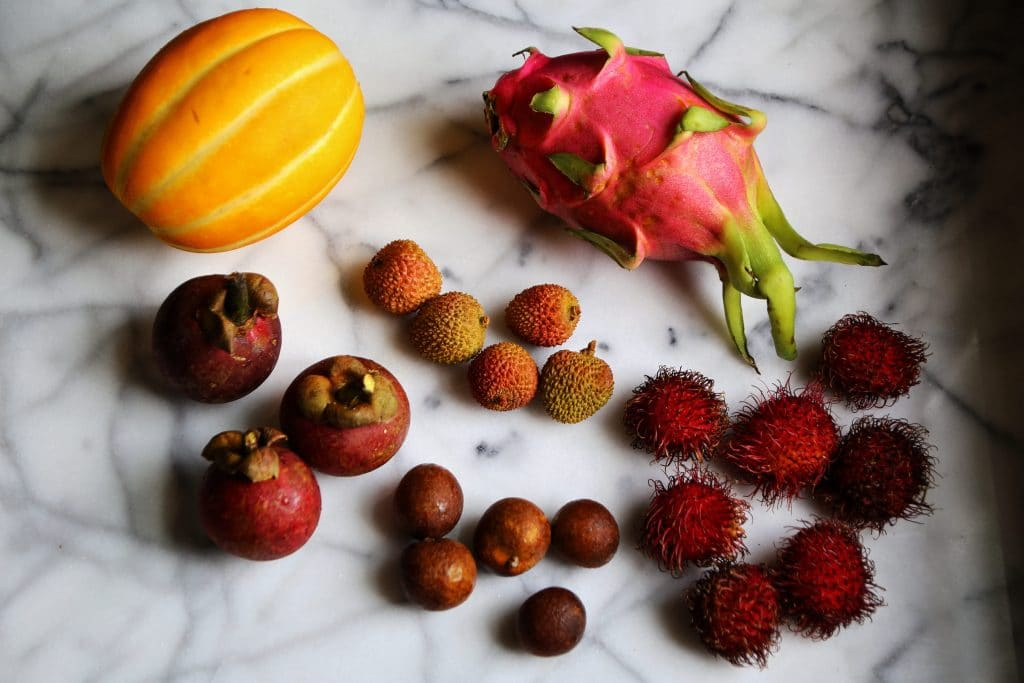 Exotic Asian Fruits