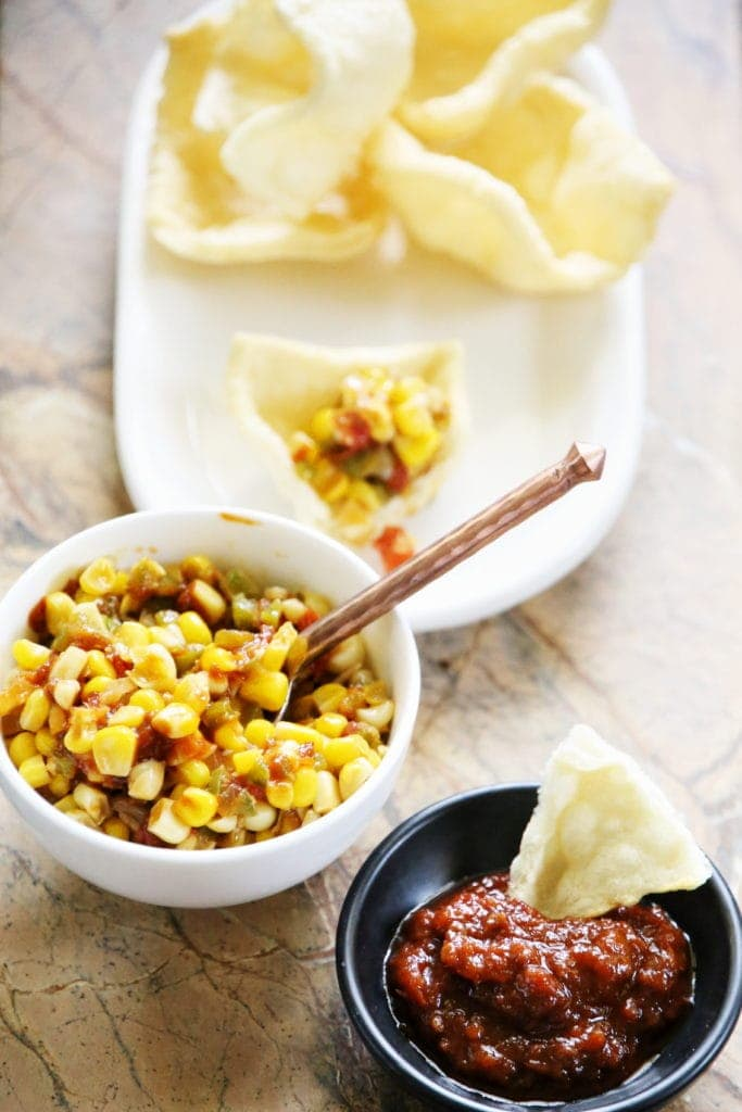 sweet corn sambal