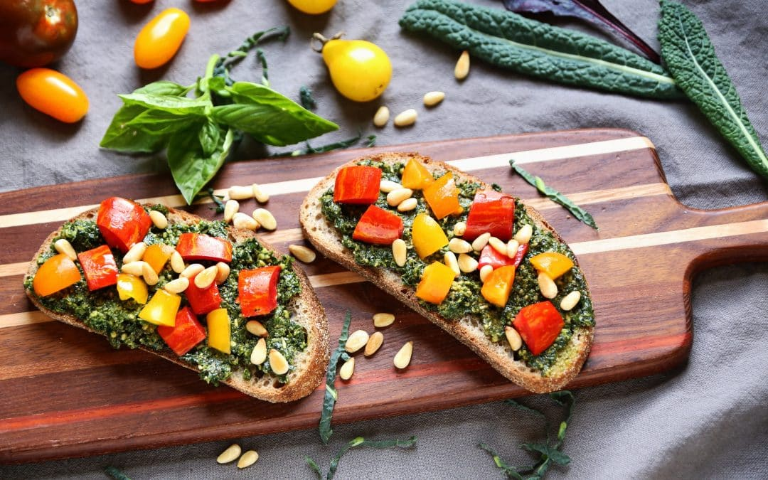 Kale, The Gift That Keeps on Giving, and Kale Pesto Tartines