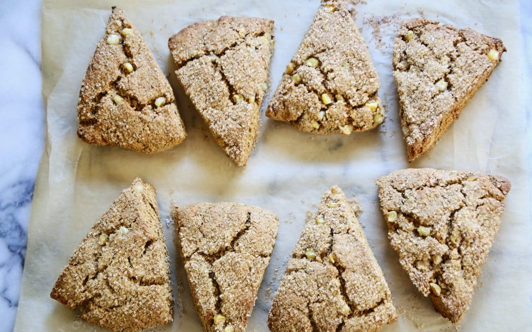 Try a Sweet Potato and Corn Scone for Whole Grains Month