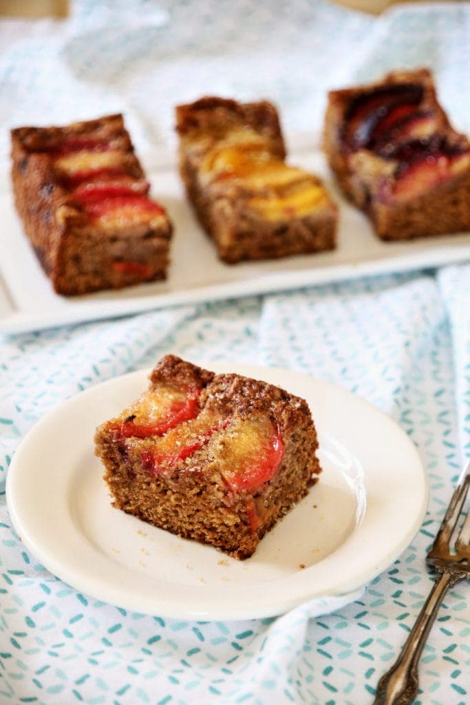Rainbow Plum Cake with Neat Egg Substitute